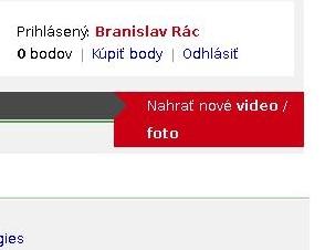 Bez toho, že by som bol odhlásený som sa už pre zmenu volal aj Branislav Rác